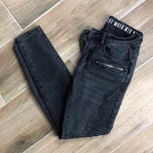 Washed Black Jeans